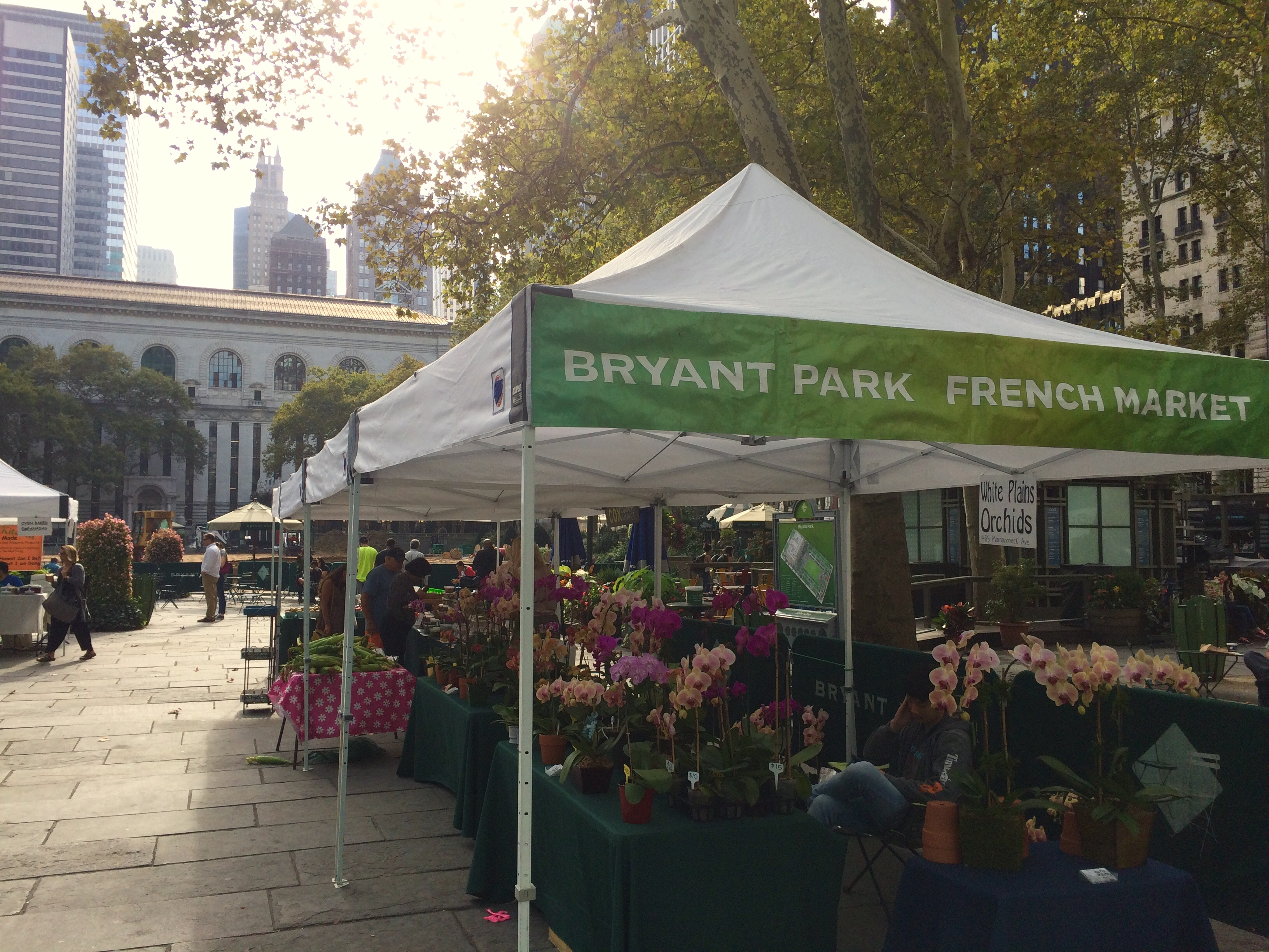 Last day at Bryant Park