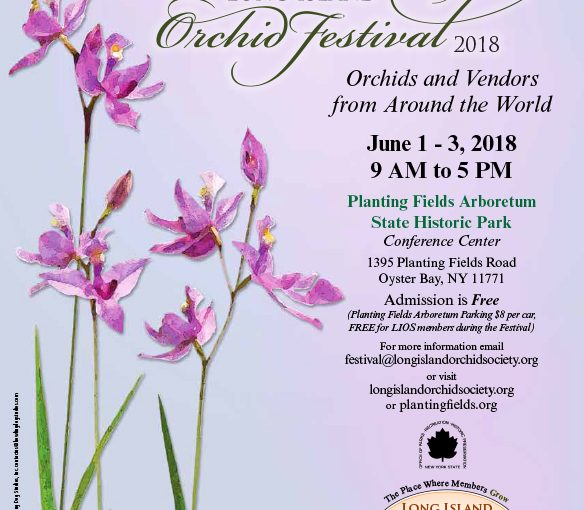 Long Island Orchid Festival 2018